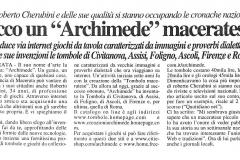 Corriere Macerata 8 luglio 2000