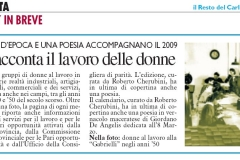 articolo 3 gennaio 2009